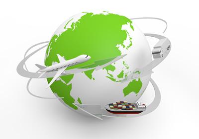 グローバルに海外を移動する人々
